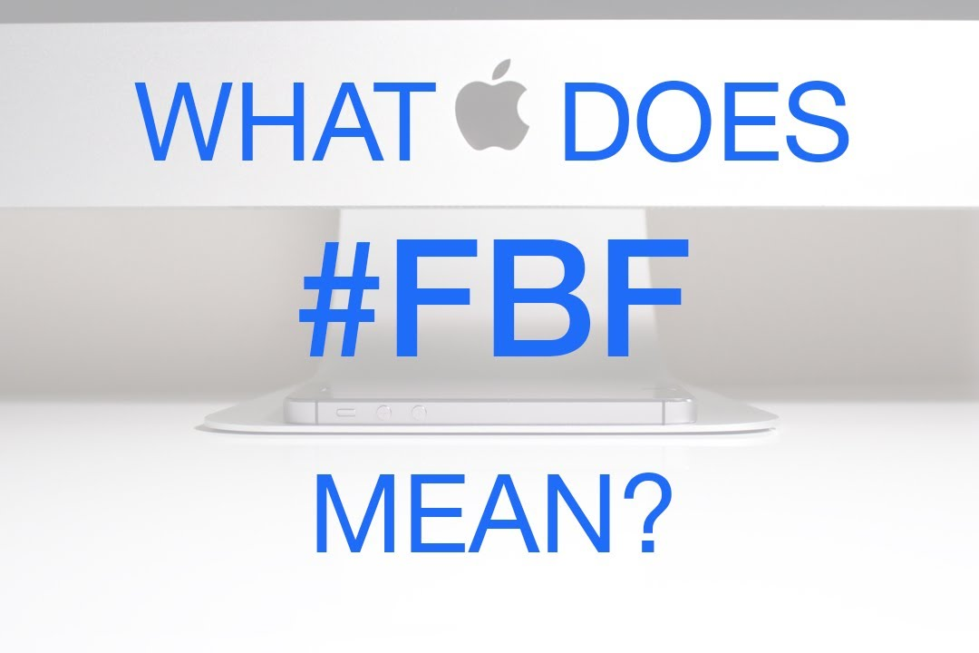 what does fbf mean