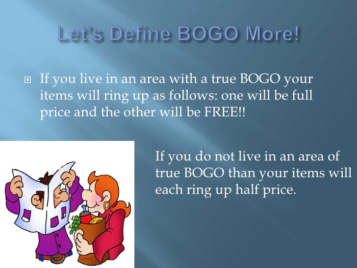what does bogo mean