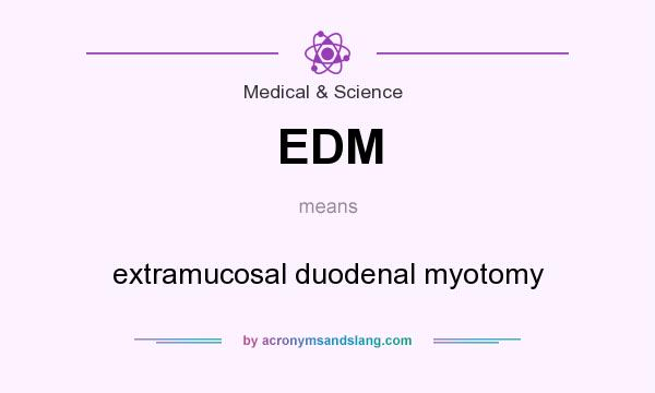 what does edm mean